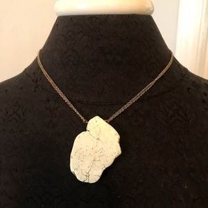 Urban Outfitters Giant Stone Necklace